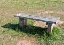 长木凳权利 库存照片