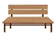 长木凳 皇族释放例证