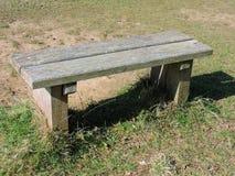 长木凳 图库摄影