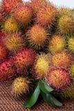 长毛的果子红毛丹印度尼西亚 免版税库存照片