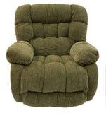 长毛绒可躺式椅摇摆物 免版税图库摄影