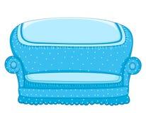 长沙发例证向量 免版税库存图片