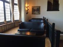 长沙发在住处Loma加拿大 免版税库存图片