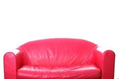 长沙发桃红色白色 库存图片