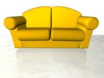 长沙发 免版税库存照片