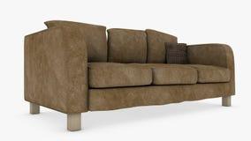 长沙发 向量例证