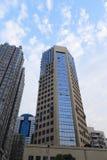 长沙摩天大楼 免版税库存图片