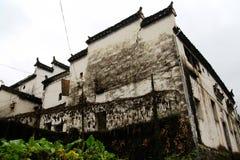 长溪村庄,惠州样式古老村庄在中国 库存图片