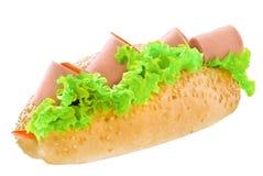 长的三明治 免版税库存照片