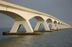 长的桥梁五公里 库存图片