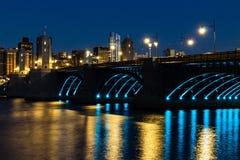 长的桥梁,波士顿 免版税图库摄影