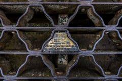 长的流失路桥梁- Littleton,西维吉尼亚 免版税库存照片