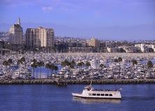 长的海滩加州 库存照片