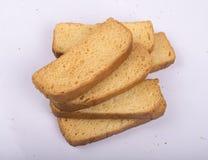 长的牛奶或suji面包干集合图象 库存图片