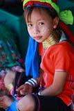 长的脖子泰国部落 免版税图库摄影