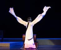 """长的袖子这紫色簪子--江西linchuan† opera""""four梦想  库存照片"""