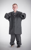 长的袖子 免版税库存图片