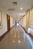长的走廊 库存照片