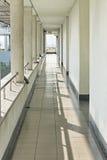 长的走廊 免版税库存照片