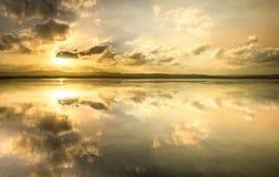 长的跳船海滩储备中央海岸, NSW 图库摄影