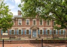 长老会制历史协会,费城,宾夕法尼亚 库存照片