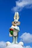 从华纳兄弟的长耳兔形象 免版税库存照片