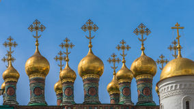 长袍的证言的教会,克里姆林宫, Rusiia 库存图片
