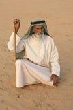 年长阿拉伯人 库存图片