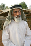 年长阿拉伯人 免版税库存照片