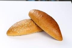 长面包的大面包 库存图片