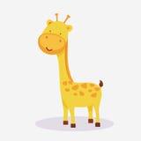 长颈鹿动物动画片的概念 库存图片
