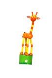 长颈鹿玩具 免版税库存图片