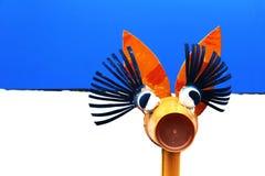 长颈鹿玩具 免版税图库摄影