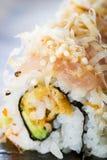 长鳍金枪鱼卷寿司金枪鱼 库存图片