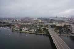 长滩港口 免版税库存图片
