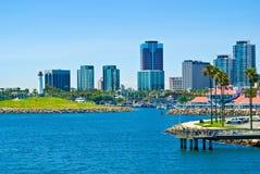 长滩,洛杉矶,加利福尼亚 免版税库存图片