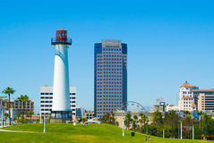 长滩,洛杉矶,加利福尼亚 免版税库存照片