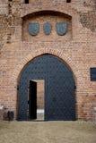 门中世纪老 库存照片