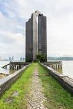门了解 尊敬葡萄牙中国联系的一座现代纪念碑 库存图片
