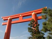 门京都torii 库存照片
