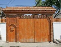 门传统transylvanian 免版税库存图片