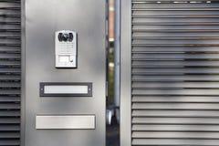 门保安系统 库存图片