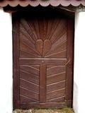 门入口涉及的前面家 库存照片