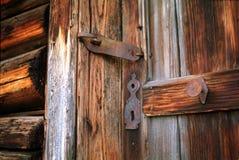 门入口涉及的前面家 免版税库存图片