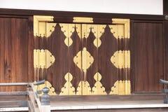 门入口皇家日本京都宫殿 库存照片