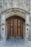 门入口耶鲁大学 库存图片