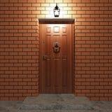 门入口 免版税库存图片