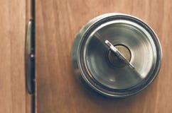 门关键锁定 免版税库存图片