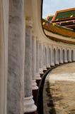 门到Phra Pathom Chedi里 免版税库存照片
