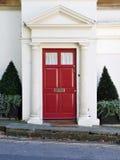 门前房子 免版税图库摄影
